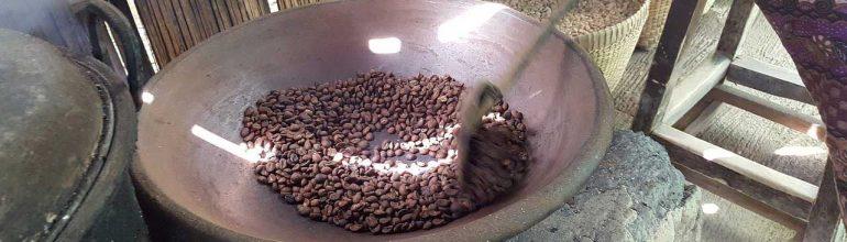 Как обжаривали кофе в старину